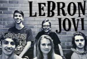 LeBron Jovi band photo