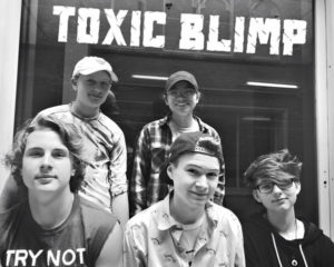Toxic Blimp band photo