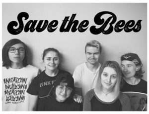 Save the Bees band photo